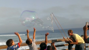 Bubble Maker at Oceanside, CA
