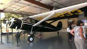Stinson at Santa Paula Airport, CA