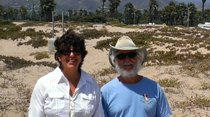 Sherry and Frank at Channel Island National Park Visitor Center, CA