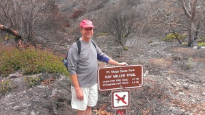 Bob at Point Mugu hiking trail