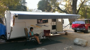 Paradise Campground in Los Padres National Forest, CA