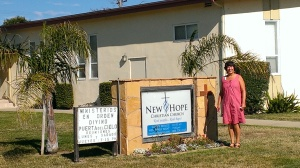 Sherry at New Hope Christian Church in Lompoc, CA