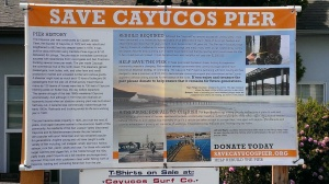 Save the Pier in Cayucos, CA