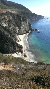 Shoreline by Bixby Bridge, CA
