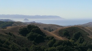 View of Morro Bay from inland
