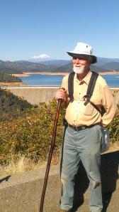 Bill at Shasta Dam in Redding, CA