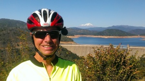 Bob and Shasta Dam in Redding, CA