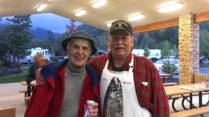 Gary and Rosemary at Seven Feathers RV Park in Canyonville OR