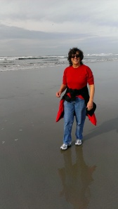 Sherry at South Beach, OR