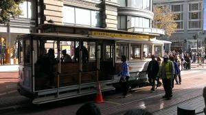 Trolley in San Francisco, CA