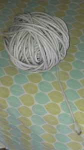 Cat5 wire as only a knitter would roll it up!