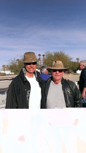 Bob and Troy ready to Dune Buggy