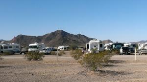 BLM camping in Quartzsite, AZ