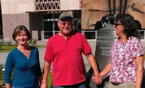 Belinda, Mike, Sherry at AZ State Capitol