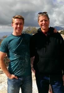 Joe and Bob on Mount Lemmon