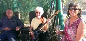 Hot Mama Rocker and her Groupies