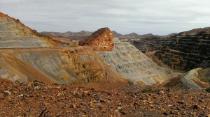 Copper Mine in Bisbee AZ