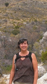 Sherry hikes Guadalupe Mountains National Park