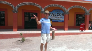 Bob in Boquillas Mexico