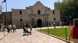 Outside of The Alamo, TX