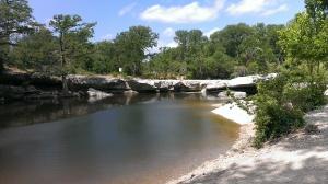 Upper Falls McKinney State Park, Austin, TX