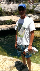 Bob at Jacob's Well