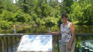 Sherry at Lake Livingston State Park, TX