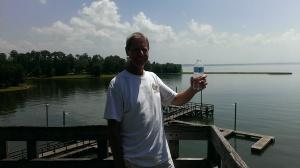 Bob at Lake Livingston, TX