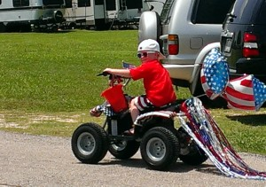 July 4 Parade in Willis, TX