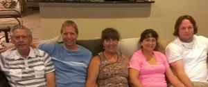 Ronny, Bob, Sherry, Pam, David