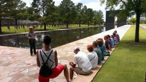 Federal Building Site Memorial in Oklahoma City