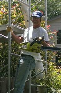 Bob trimming trees