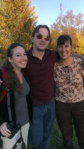 Brenna, Jon, Sherry enjoy Fall colors