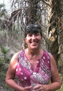 Jungle trail in Florida