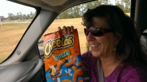 Cheese Puffs get Sherry's vote