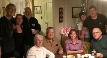 2015-01-30 19.18.22 Pam Skye JR Bev Gene Belinda Mike Sherry Terry at Aunt Helens funeral