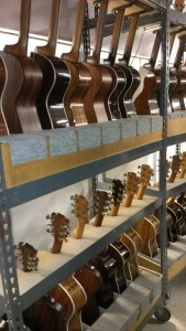 Taylor Guitar Factory in California