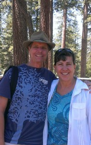 Bob and Sherry in King's Canyon and Sequoia National Park