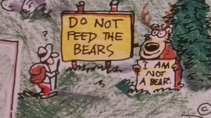 Do Not Feed the Bears?