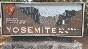 Yosemite National Park entrance Hwy 120