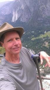 Bob at top of Upper Yosemite Falls