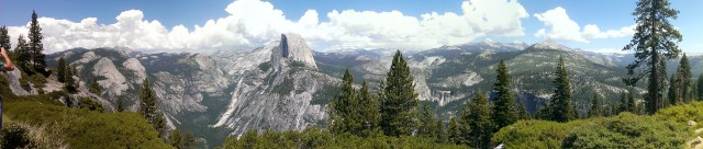 View of Yosemite from Glacier Point