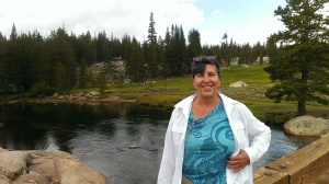Sherry in Tuolumne Meadows