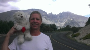 Bob and Louie in Great Basin National Park, Nevada