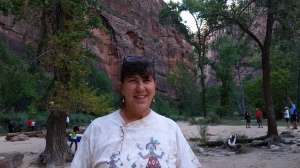 Sherry in Zion National Park, Utah