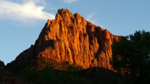 Sunrise in Zion National Park, Utah