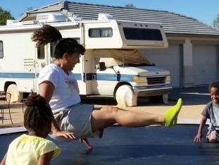 2015-10-26 14.39.07 Sherry KayKay Ray on trampoline