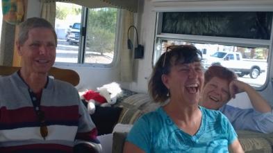 2016-01 Bob Sherry Sue laughing at Bashfords