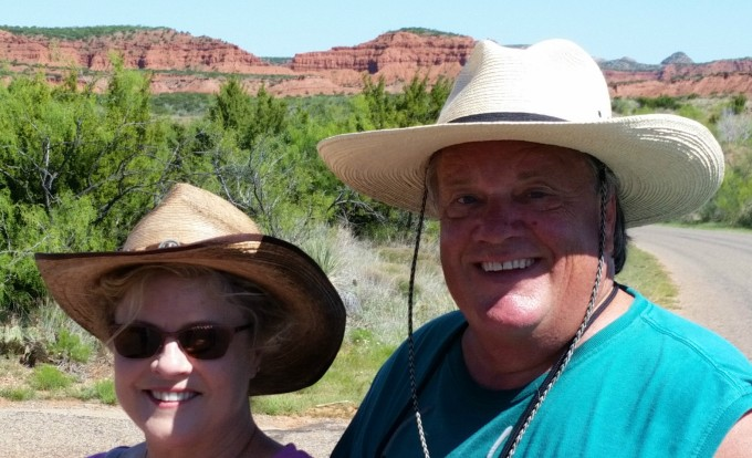 2016-04-25 11.19.09 Rhonda and Keith at Caprock State Park TX