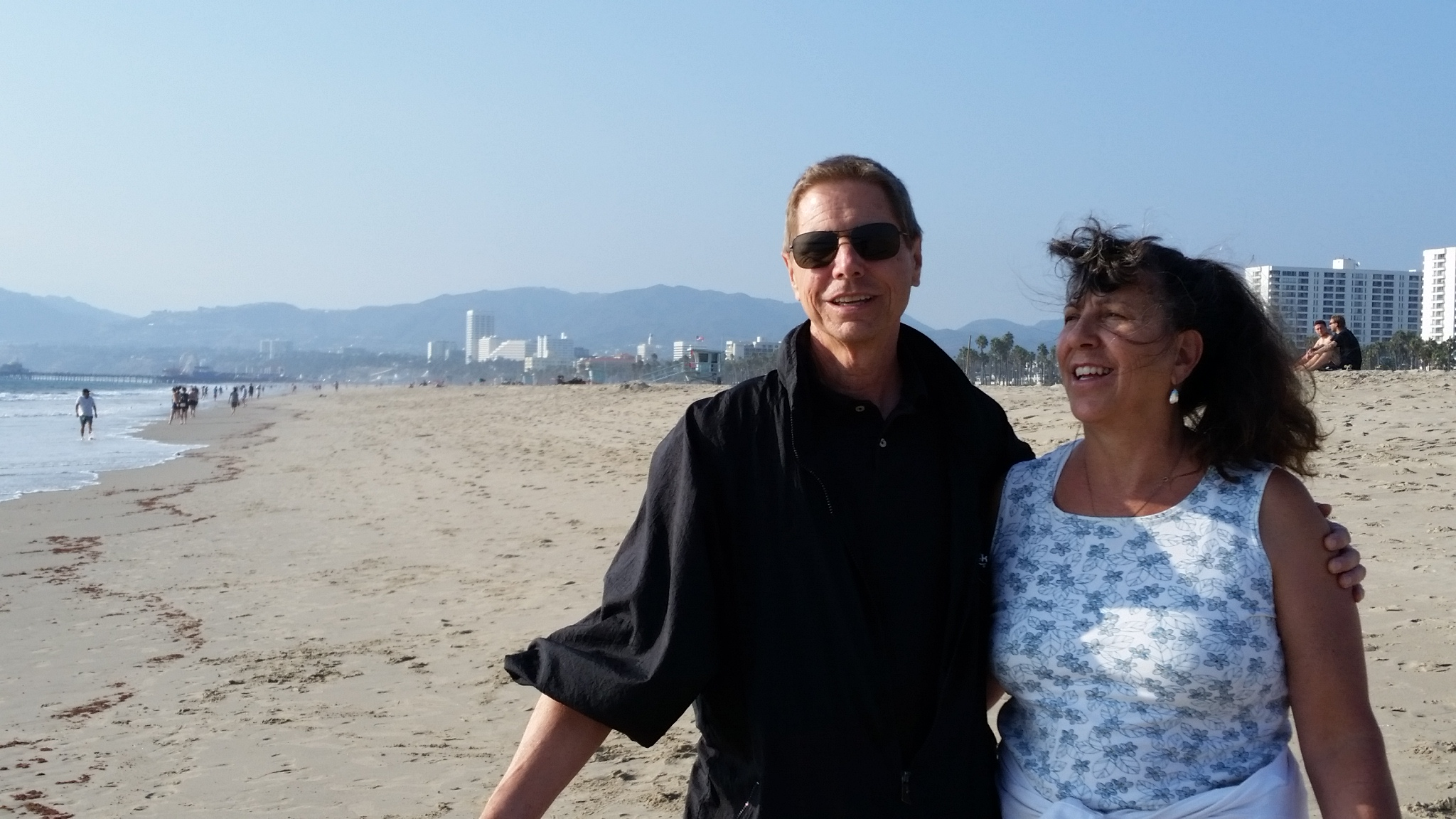 2017-09-19 Bob and Sherry Venice Beach CA